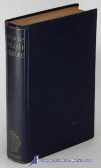 image of Annals of English Literature 1475-1925: The Principal Publications of Each  Year Together with an Alphabetical Index of Authors with their Works