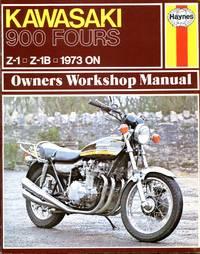 image of Kawasaki 900, Z1, Z1B - Owners Workshop Manual