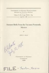 image of Summer Birds from the Yucatan Peninsula, Mexico