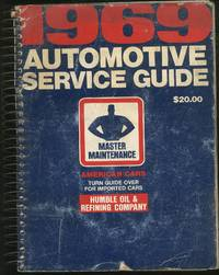 1969 Automotive Service Guide Master Maintenance
