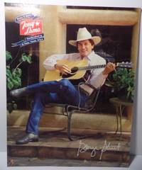 GEORGE STRAIT TONY LAMA BOOTS BELTS WESTERN COUNTRY ADVERTISING SIGN