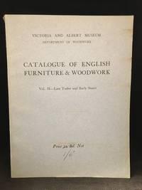 image of Catalogue of English Furniture & Woodwork; Vol. II. - Late Tudor and Early Stuart