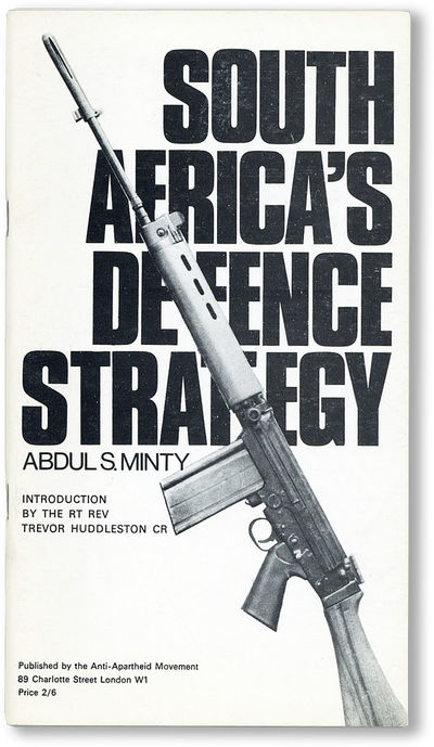 London: Anti-Apartheid Movement, 1969. Paperback. Pamphlet by the Honorary Secretary of the Anti-Apa...