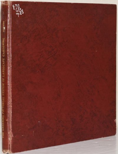Charles E. Greening, 1910. Hard Cover. near Very Good binding. An ex-library copy, with the usual ma...
