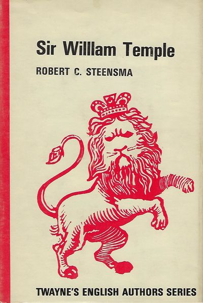 New York: Twayne Publishers, Inc, 1970. First Edition. 8vo., red cloth in dust jacket; 164 pages. Fi...