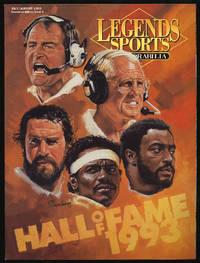 Legends Sports Memorabilia Volume VI Number 4 July/August 1993 Hall of Fame 1993