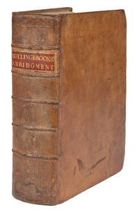 An Abridgment of the Publick Statutes of Ireland, Now in General Use by  Jonathan  Edward; Belcher  - First edition  - 1754  - from The Lawbook Exchange Ltd (SKU: 72320)