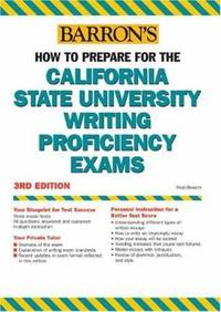 How to Prepare for the California State University Writing Proficiency Exams by Fred Obrecht; Boak Ferris - Paperback - 2005 - from ThriftBooks and Biblio.com