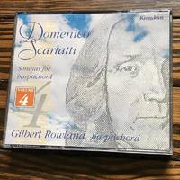 Gilbert Rowland / Scarlatti: Sonatas For Harpsichord, Vol. 4 (Kingdom)