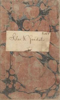 Account Book of Silas K. Goodale from the Bank of Newburgh, New York, 1824-25