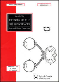 Journal of the History of the Neurosciences (Vol 13, No. 2, June 2004)