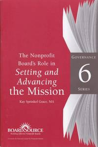 Nonprofit Board's Role in Setting and Advacing the Mission