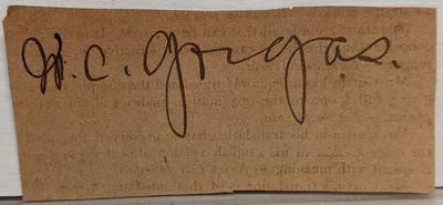 fine. Large bold signature