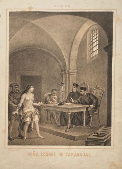 Mexico City: Diaz de Leon y White, 1870. Primitivo Miranda. Lithograph. Image measures 14 1/2