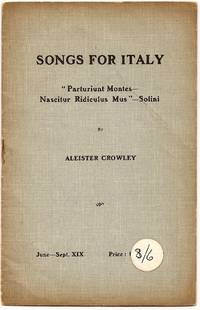 Songs For Italy