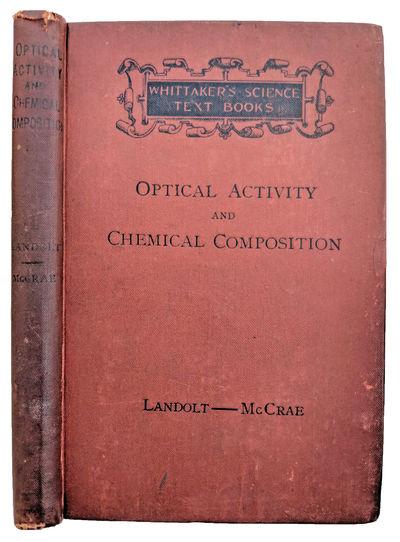 London and New York:: Whittaker, 1899., 1899. 8vo. xi, , 158 pp. Index. Original brownish-red black-...