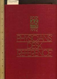 Image Of Physiciansu0027 Desk Reference / PRD 46 Edition 1992 [Educational,  Textbook,