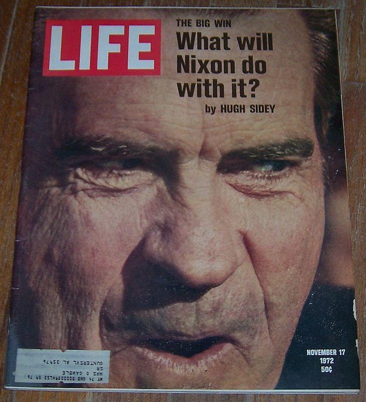 LIFE MAGAZINE NOVEMBER 17, 1972, Life Magazine