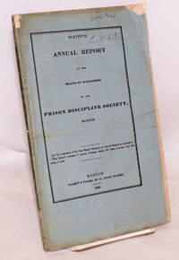 image of Eleventh annual report of the Board of Managers of the Prison Discipline Society, Boston