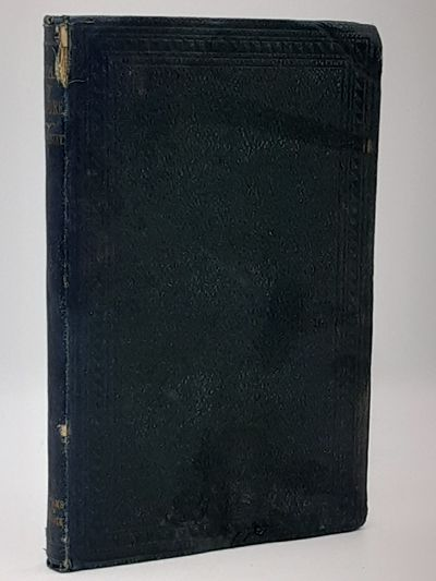 London.: Williams and Norgate., 1863. 3rd thousand.. Publisher's navy stippled cloth, blindstamped...