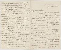 Long Autograph Letter Signed 'E.Sarum' to 'My dear Lord' (Edward, 1801-1854, from 1837 Bishop of Salisbury)