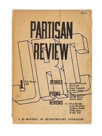 Partisan Review; A Bi-Monthly of Revolutionary Literature. Volume 1, No. 1. February-March, 1934