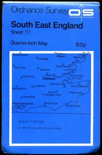 Ordnance Survey Quarter-Inch Map of Great Britain (Blue Covers) Sheet 17: South East England