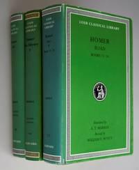 Homer: The Iliad: Volume I, Books 1-12, Volume II 7 Volume III Books 13 -24 (Loeb Classical...