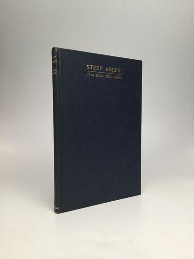 New York: The Macmillan Company, 1927. First Edition. Hardcover. Near fine. Presentation copy, inscr...