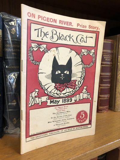 Boston, MA: The Black Cat, 1899. First Edition. Softcover. Octavo, iv pages, 45 pages, v-xx pages; V...