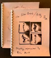 2 Books of Bettie Page Contact Sheets -- Both Presented by Photographer Eric Kroll