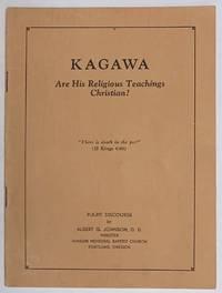 image of Kagawa: are his religious teachings Christian