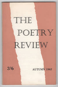 The Poetry Review, Volume 56, Number 3 (LVI, Autumn 1965)