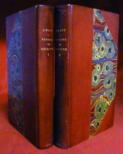 Paris: H. Fournier Aine et Furne Et Cie, 1838. Hardcover. Three quarter red morocco and marbled boar...