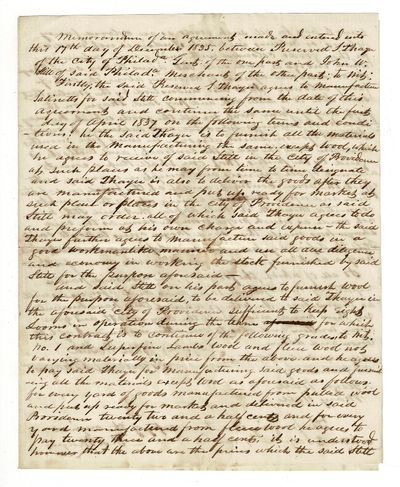 [Millville, Providence, et al., 1845. Forty-nine letters, notes, receipts and other manuscript docum...