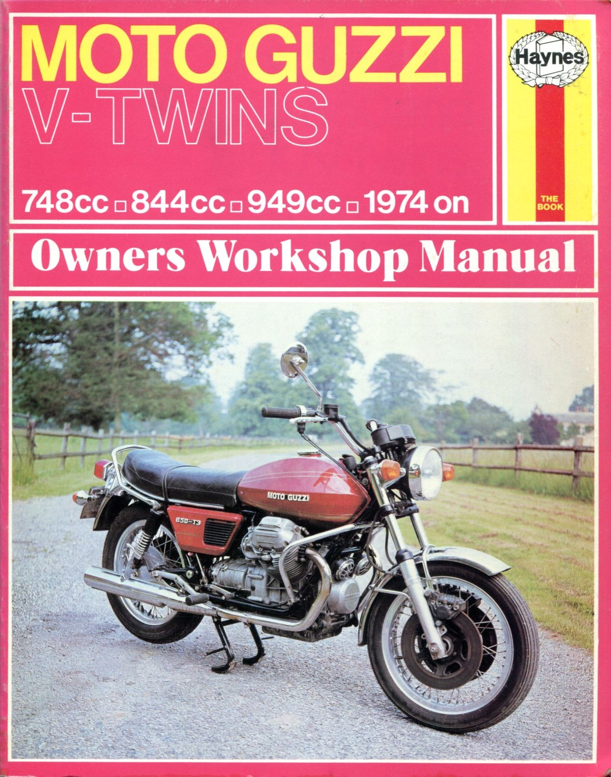 9780856963391 - Moto-Guzzi 750, 850 and 1000 V-Twins Owners Workshop Manual,  No. M339 '74-'78 (Haynes Manuals) by John Harold Haynes
