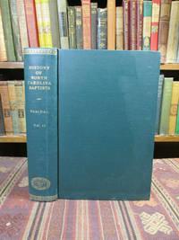 image of History of North Carolina Baptists.  Volume II (Only)