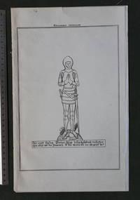 Stratfield Mortimer [ Berkshire - 2 images of monumental brasses ]