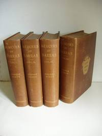 Memoirs of Barras  -  Member of the Directorate  -  First Edition Set Complete in Four Volumes