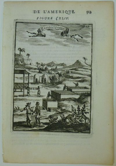 Paris: Denys Thierry, 1683. unbound. Miniature view. Copper plate engraving with hand coloring. Imag...