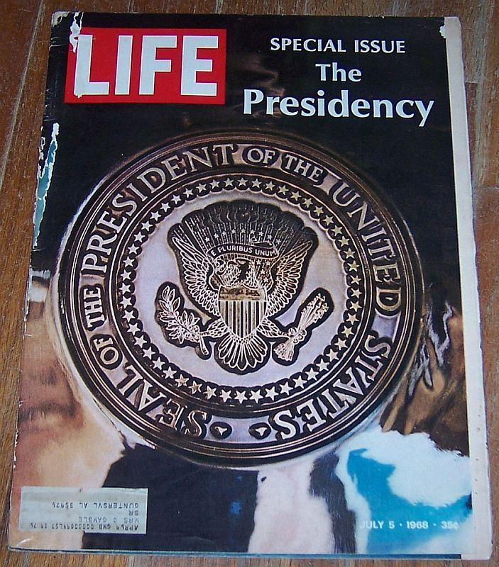 LIFE MAGAZINE JULY 5, 1968, Life Magazine