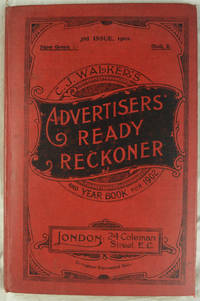 C J Walker's Advertisers' Ready Reckoner and Year Book for 1902