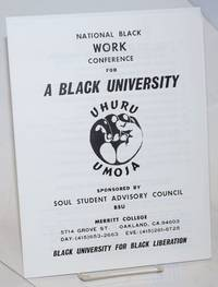 National Black Work Conference for a Black University