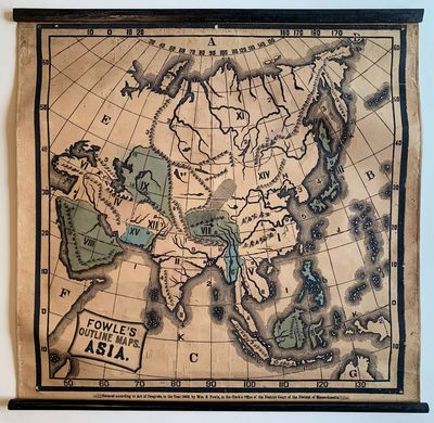 [Series title:] Fowle's Outline Maps....