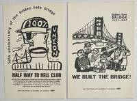 image of [Two cards celebrating the 50th anniversary of the union-built Golden Gate Bridge]