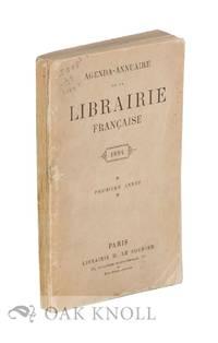 AGENDA-ANNUAIRE DE LA LIBRAIRIE FRANÇAISE 1894