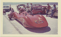 image of Archive of 163 vernacular photographs of speed runs at Bonneville, 1960-1963