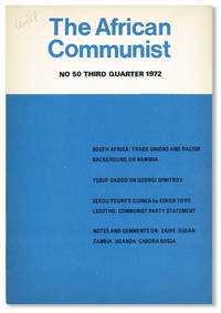 image of The African Communist (Quarterly). No. 50 - Third Quarter 1972