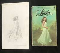 LAURA (First Avon Paperback Edition with ORIGINAL COVER ART SKETCH)