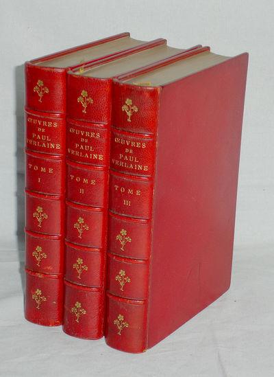 Paries; 1900 & 1899: Librairie Lion Vanier. 12mo. In three volumes; Poems, Amours and Elegies (Volum...